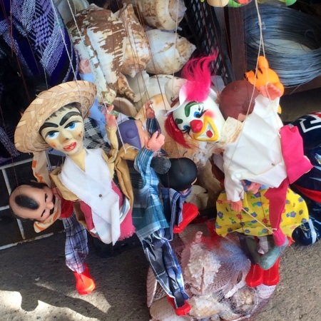 Creepy Mexican puppets