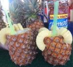 Pineapple pina coladas