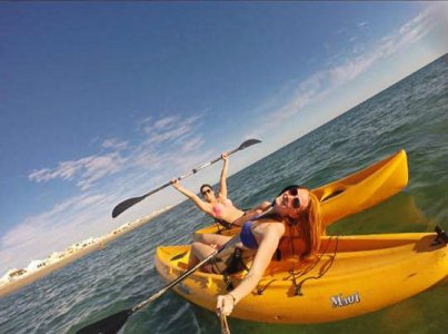 Kayaking in Puerto Penasco