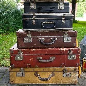 Suitcases for what to pack