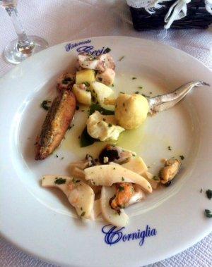 Seafood in Cinque Terre