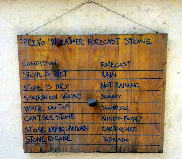Signs in Cinque Terre