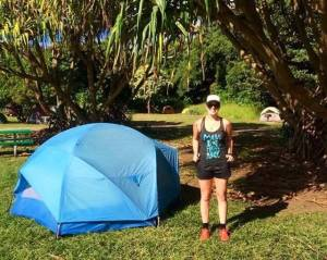 Camping in Hana