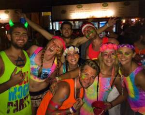Full Moon Party crew