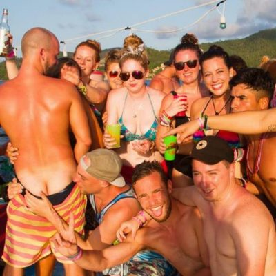 Booze cruise in Koh Phangan
