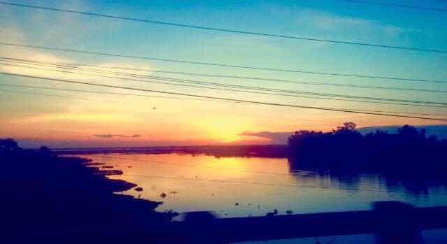 Last Cambodia Sunset